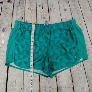 Danskin Now Shorts - Danskin Now Green Athletic Shorts
